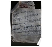 Recipe Collection - Era Gone By Poster