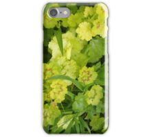 Grass and Geranium Leaves iPhone Case/Skin