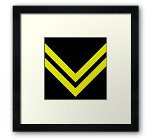 Chevron 1 Framed Print