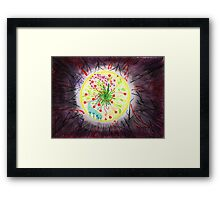 When the world around you is dark - find the light inside you Framed Print