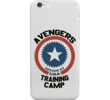 AVENGERS TRAINING CAMP iPhone Case/Skin