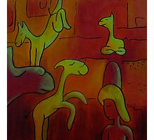 Lucky Llamas Photographic Print