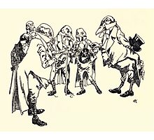 The Zankiwank & the Bletherwitch by Shafto Justin Adair Fitz Gerald art Arthur Rackham 1896 0069 Dignity Photographic Print