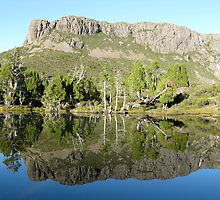 Solomon's Throne Reflections by Damien Hingston