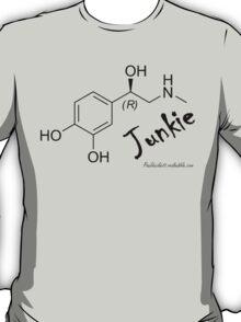 Adrenaline Junkie - Black Text T-Shirt