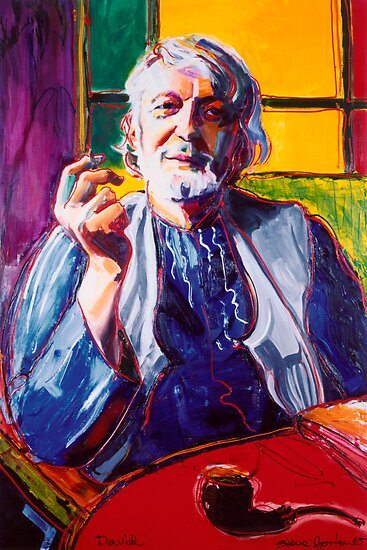 Portrait Art: David Boyd by Stephen Gorton