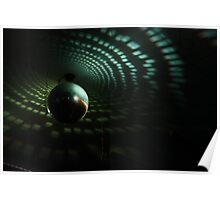 Disco Ball - Green Poster