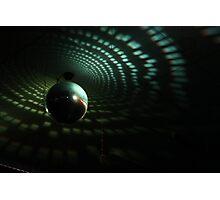 Disco Ball - Green Photographic Print