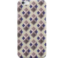 Abstract isometric pattern iPhone Case/Skin
