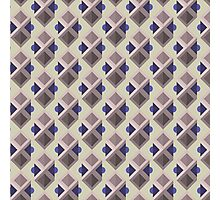 Abstract isometric pattern Photographic Print