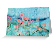 Blossom and Leaves Greeting Card