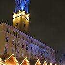 Christmas market in Lvov by Elena Skvortsova
