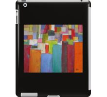 Colour Block 6 Textured abstract iPad Case/Skin