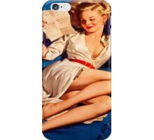 Pin Up Cindy iPhone Case/Skin