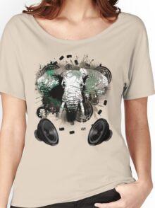 Elephant Bass Women's Relaxed Fit T-Shirt