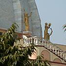 Idols at ISCON Temple - Mayapur by Shubhrajit Chatterjee