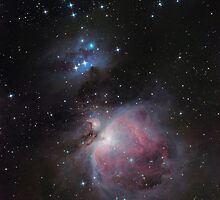 Great Orion Nebula by Igor Chekalin