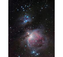 Great Orion Nebula Photographic Print