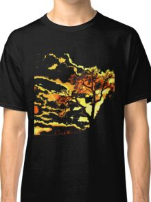 Dead Tree of Life and Setting sun Classic T-Shirt