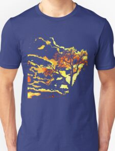 Dead Tree of Life and Setting sun T-Shirt