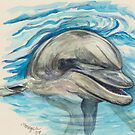 Dolphin by morgansartworld