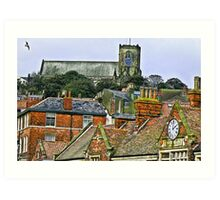 St Mary's Church - Scarborough Art Print