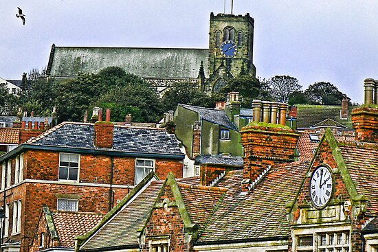 St Mary's Church - Scarborough by Trevor Kersley