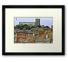 St Mary's Church - Scarborough Framed Print