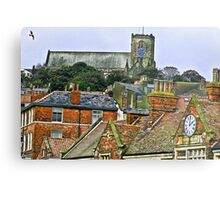 St Mary's Church - Scarborough Metal Print