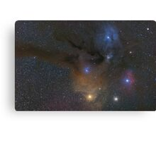 Antares and Rho Ophiuchi region nebulae Canvas Print