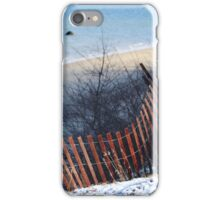 Winter at the Beach iPhone Case/Skin