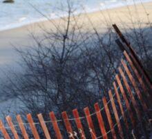 Winter at the Beach Sticker