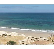 Bluey Green Sea Photographic Print