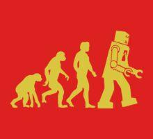 Sheldon Robot Evolution by dreamtee