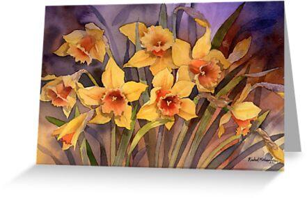 Daffodils by artbyrachel