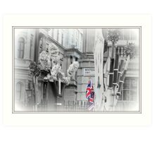Union Jack, Whitehall Art Print