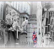 Union Jack, Whitehall by Jackie Barefield