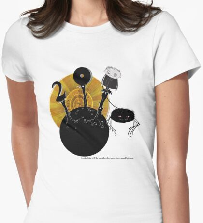 Big Year for a Small Planet Womens Fitted T-Shirt