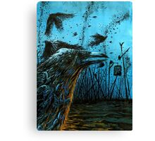 Crows Plague Canvas Print