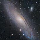 Andromeda Galaxy, M31 (New Mosaic) by Igor Chekalin