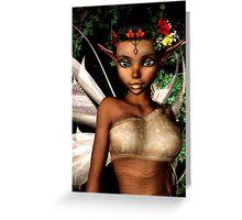 Woodland Fairy Greeting Card