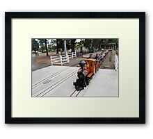 Big Kids' Toys Framed Print