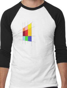 Colorful Udesign  Men's Baseball ¾ T-Shirt