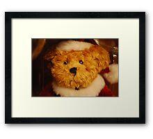 The Christmas Bear Framed Print