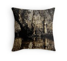 Lady of the Lake Throw Pillow