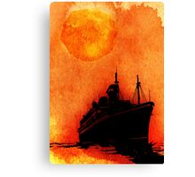The Journey Would Prove To Be As Dangerous As The Destination Canvas Print