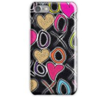 Hugs and Kisses (Large) iPhone Case/Skin