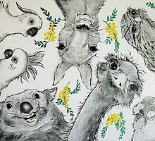 Australian Menagerie by Sally Ford