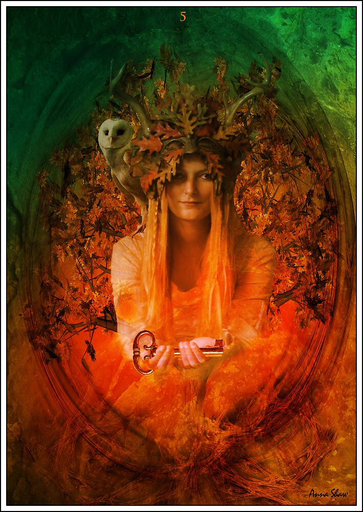 The Hierophant by Anna Shaw