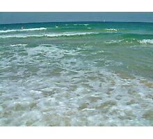 Mediterranean Sea Israel.. Photographic Print